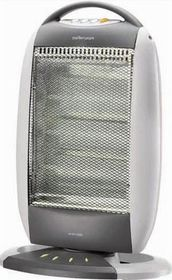 Mellerware - 3 Bar Halogen Heater - 1200 Watts