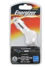 Energizer USB In Car Charger - for Portable Gaming Consoles