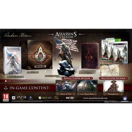 Assassin's creed iii: freedom edition news mod db.