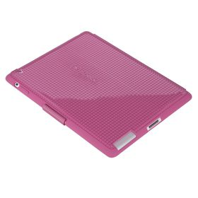 Speck PixelSkin HD Wrap for iPad 2 & 3 - Bubble Gum