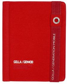 Golla Bags Paz - iPad Folder  - Red