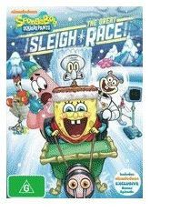 Spongebob Squarepants The Great Sleigh Race (DVD)