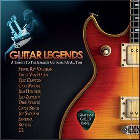 Graham Gillot Band - Guitar Legends (CD)