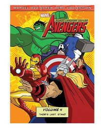 Marvel The Avengers: Earth's Mightiest Heroes Vol. 4 (DVD)