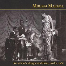 Miriam Makeba - Live At Bern's Salonger, Stockholm, Sweden (CD)