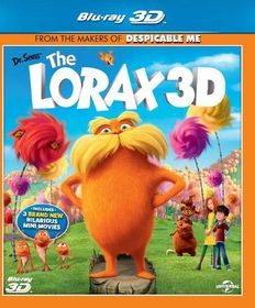 Dr. Seuss's The Lorax (3D Blu-ray)