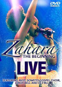 Zahara - The Beginning Live (CD)