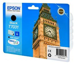 Epson T7031 Black Ink Cartridge (Big Ben)