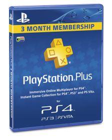 PlayStation Network Card 3-Month Membership (PS4, PS3, PSVITA, PSP)