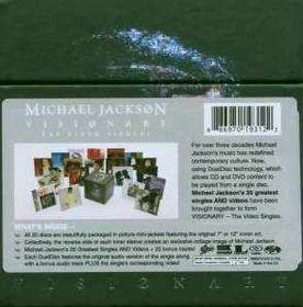 Jackson, michael - Visionary - Video Singles (DVD)