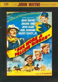 She Wore a Yellow Ribbon - (Region 1 Import DVD)