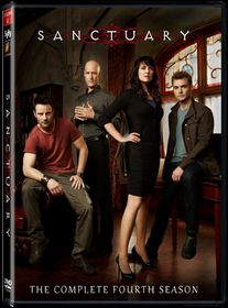 Sanctuary Season 4 (DVD)