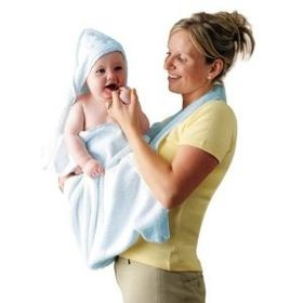 Clevamama - Splash N Wrap Towel - Blue