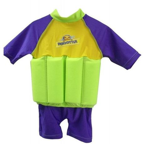 7b95eba0 Polyotter - Floatsuit Medium - Green and Purple | Buy Online in South  Africa | takealot.com