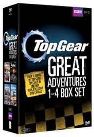 Top Gear - The Great Adventures: 1-4 (parallel import)