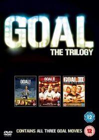 Goal!/Goal! II - Living the Dream/Goal! III - Taking On the World (Import DVD)