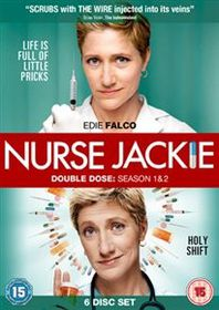 Nurse Jackie Season 1 & 2 (Import DVD)