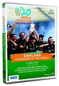 World Twenty20 West Indies 2010 - England, Champions of the World (Import DVD)
