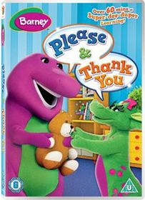 Barney - Please & Thank You (Import DVD)
