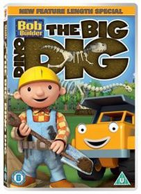 Bob The Builder: The Big Dino Dig (Import DVD)
