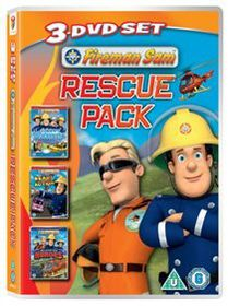 Fireman Sam: Rescue Pack (Import DVD)