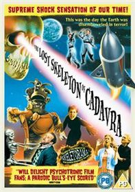 The Lost Skeleton Of Cadavra (Import DVD)
