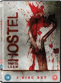 Hostel 1-3 (Import DVD)