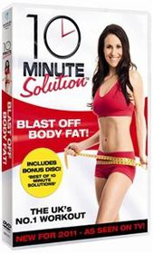 10 Minute Solution Blast Off Body Fat (Import DVD)