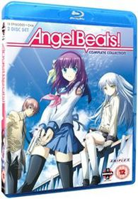 Angel Beats: Complete Series (Import Blu-ray)
