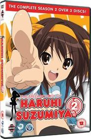 Melancholy Of Haruhi Suzimiya, The Complete Season 2 (DVD)