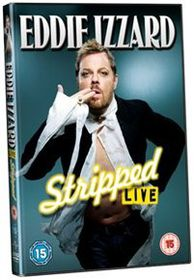 Eddie Izzard - Stripped Live (Import DVD)