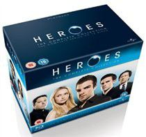 Heroes: The Complete Series 1-4 (parallel import)