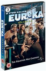 A Town Called Eureka: Season 4.0 (Import DVD)