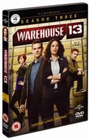 Warehouse 13: Series 3 (Import DVD)