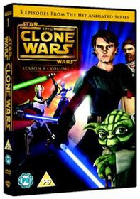 Star Wars - The Clone Wars: Season 1 - Volume 1 (Import DVD)