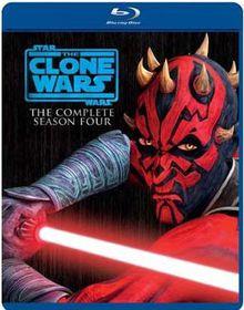 Star Wars: The Clone Wars Season 4 (Import Blu-ray)