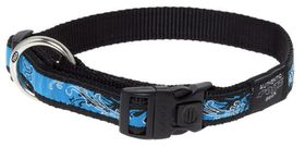 Rogz - Fancy Dress Extra-Large Armed Response Dog Collar - Turquoise