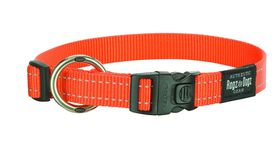 Rogz - Utility 20mm Dog Collar - Orange