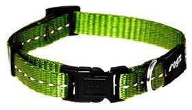 Rogz - Utility 16mm Dog Collar - Lime