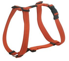 Rogz - Utility 16mm Dog H-Harness - Orange