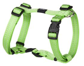 Rogz - Utility 16mm Dog H-Harness - Lime