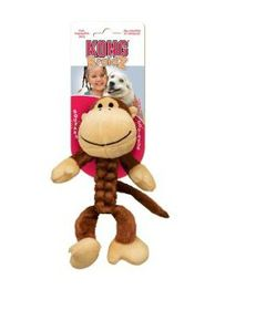 Kong -  Dog Toy Braidz Monkey - Large