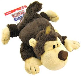 Kong -  Dog Toy Cozie Spunky Monkey - Medium