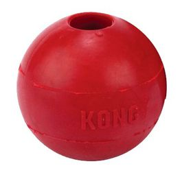 Kong -  Dog Toy Interactive Ball - Medium-Large - Red