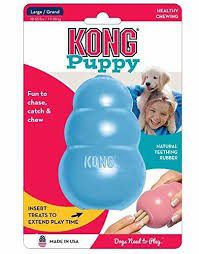 Kong -  Puppy Toy - Medium - Blue