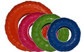 Marltons - Dog Toy Tyre - Orange - 20.32cm