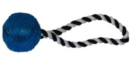 Marltons - Dog Toy Plastic Ball On Rope
