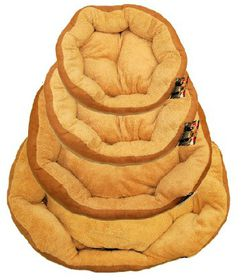 Uptown Toys - Dog Bed - Suede & Sheepskin - Small