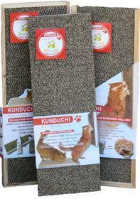 Kunduchi -  Deluxe Honeycomb Wooden Cat Scratcher