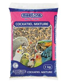 Marltons - Cockatiel Seed - 1kg